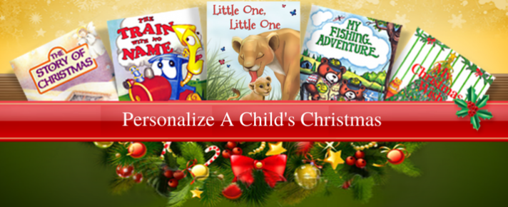 Personalize a Child's Christmas PNG